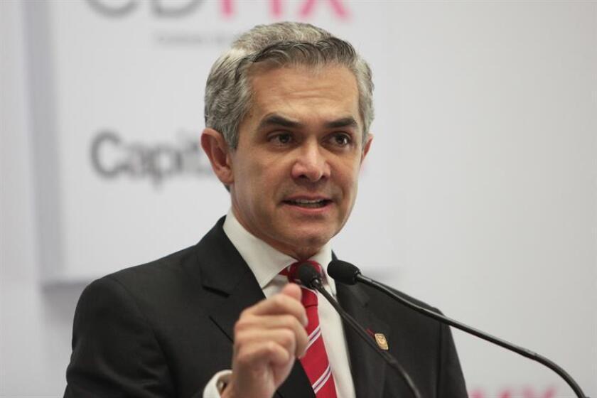 Mancera, quien no se ha pronunciado sobre la decisión, fue incluido en el segundo puesto de la lista senadores plurinominales durante la reunión del Consejo Nacional, informó el partido en un comunicado. EFE/ARCHIVO