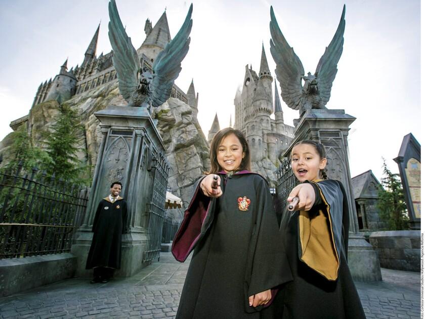 The Wizarding World of Harry Potter, una recreación del lugar donde vive el famoso niño mago.