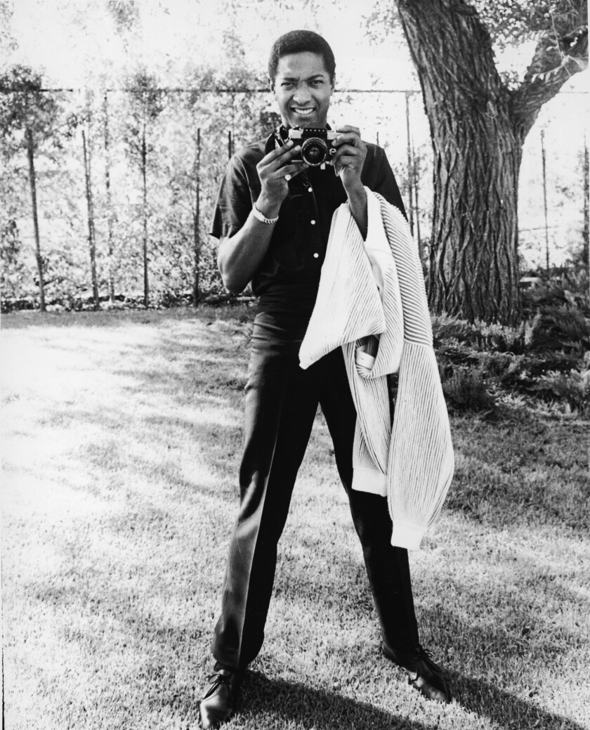Sam Cooke, pictured in the early 1960s, is portrayed in the film by Leslie Odom Jr.
