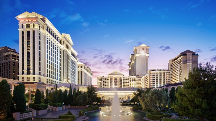 Caesars Entertainment has begun rolling out WeChat Pay at Caesars Palace (above) and other Vegas pro