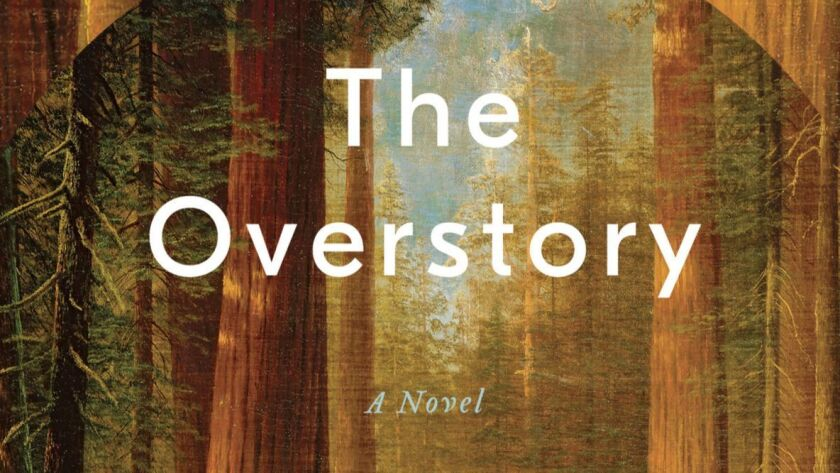 """This cover image released by W. W. Norton & Company shows """"The Overstory,"""" a novel by Richard Powers"""