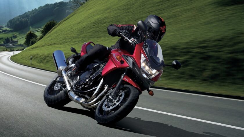 The 1250S is a comfortable commuter/tourer that doesn't try to be more than it is.