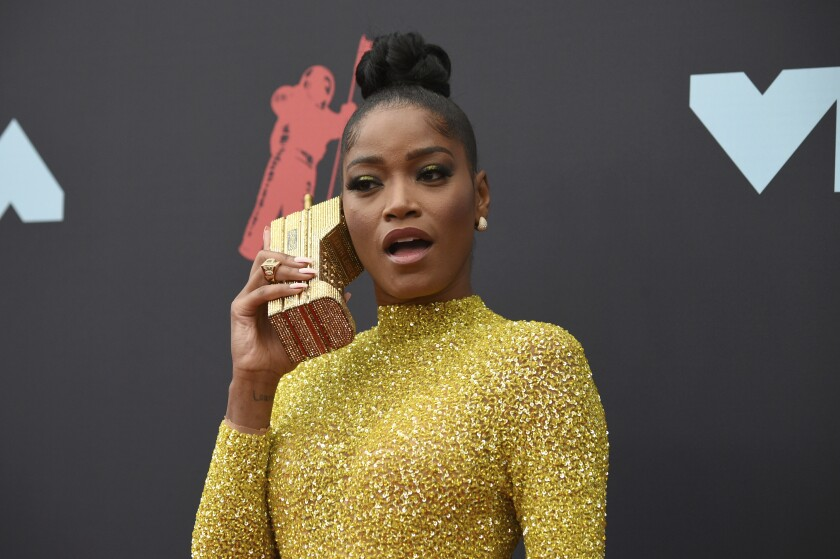 Keke Palmer at the 2019 VMAs