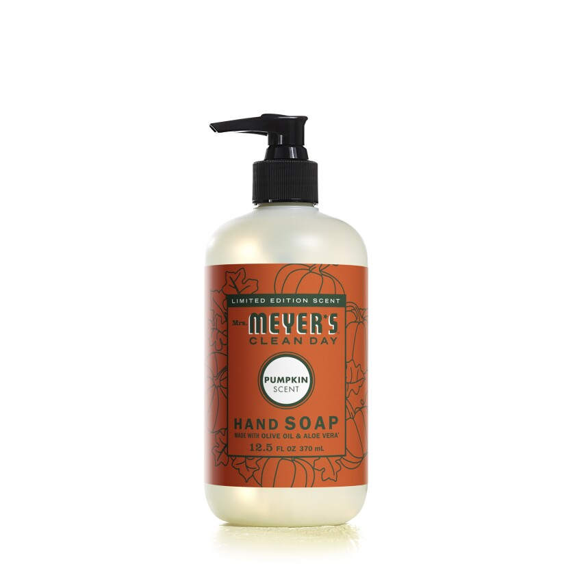 Mrs. Meyer?s line of cleansers offers an entire collection of pumpkin spice cleaning products includ
