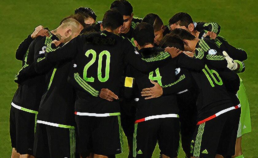 Se estrena la selección mexicana en 2016.