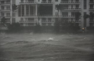 Hurricane Irma has strengthened as it heads toward Florida's Gulf Coast.