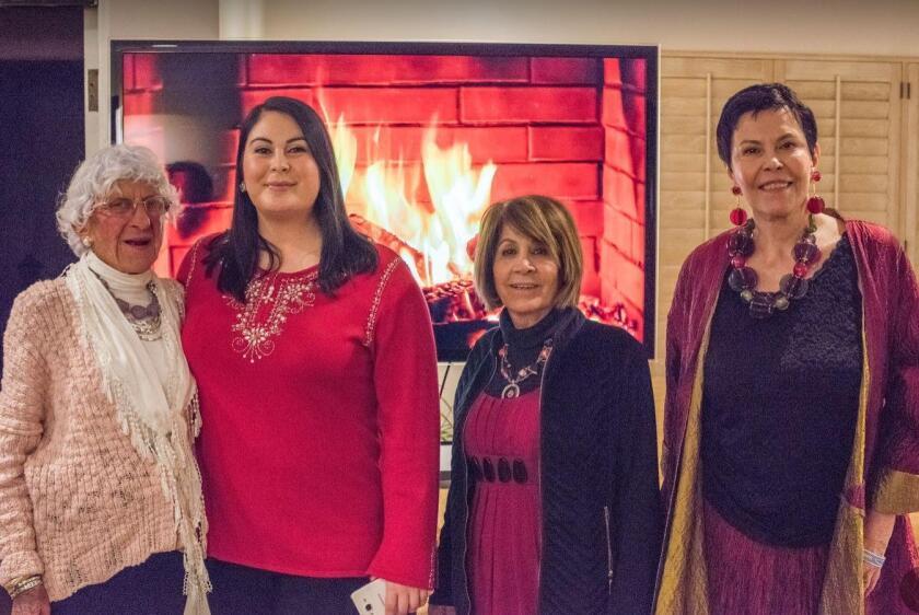 Jacquie Woods, LJCC executive director Nancy Walters, Bassie Kan, LJCC CEO Ruth Yansick
