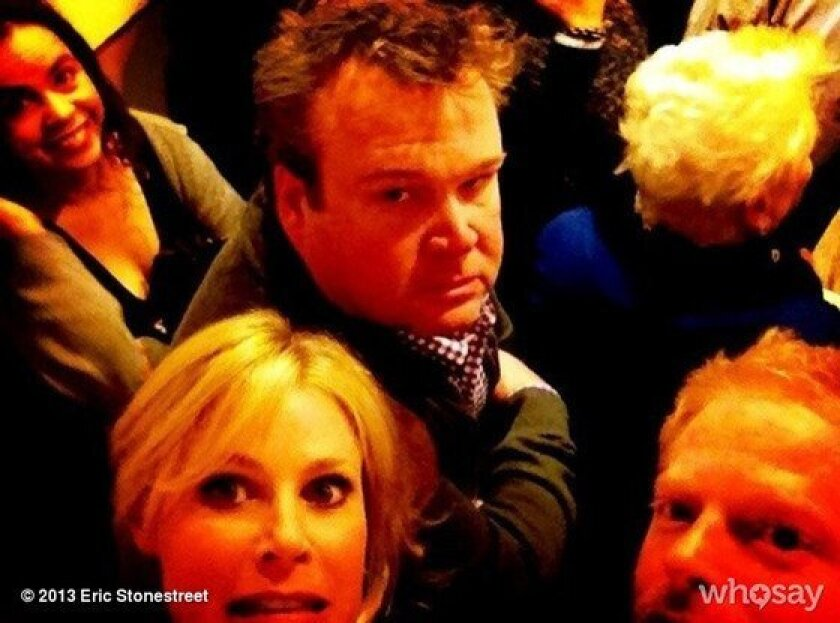 """""""Modern Family"""" costars trapped in a Kansas City elevator."""