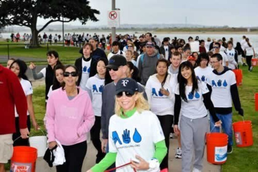 The Walk for Water will be completely run by the students participating in the Global Youth Leadership Program. Courtesy
