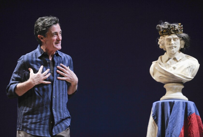 "Roger Rees in ""What You Will."""