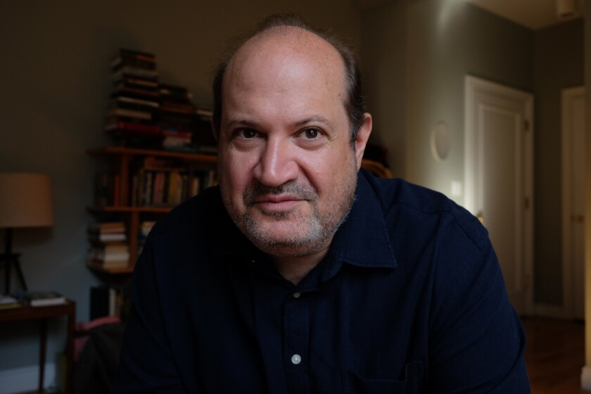 "An author photo of Sam Lipsyte for his book ""Hark."" Credit: Ceridwen Morris"