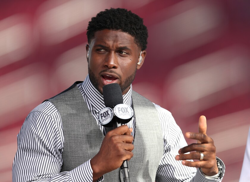 Former USC running back Reggie Bush is now a college football analyst for Fox Sports.