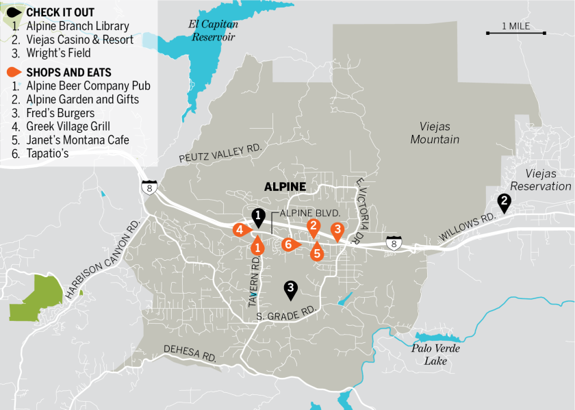 almanac 2018 alpine photo map