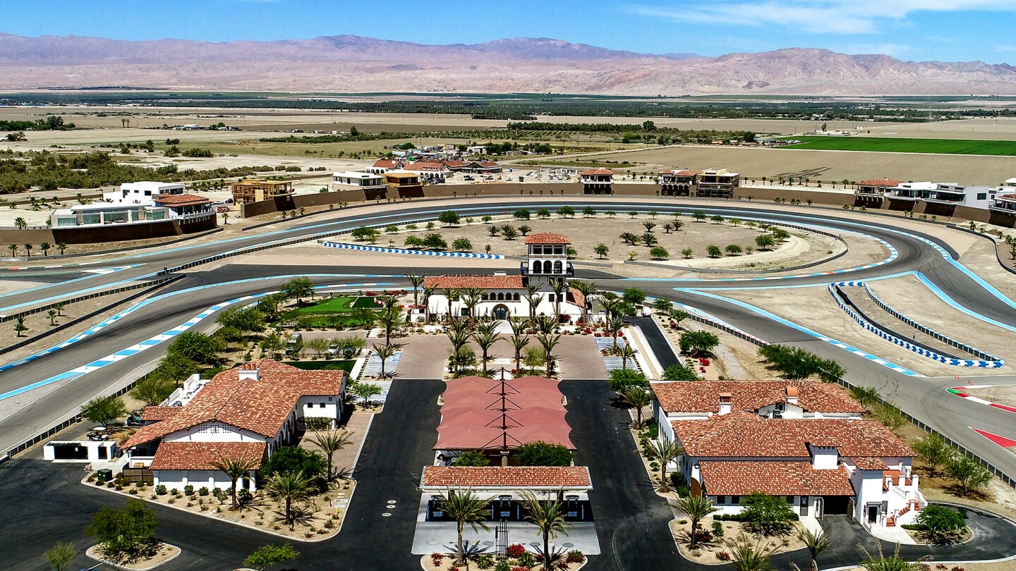 Hot Property | In Thermal, a motorsports community offers life in the fast lane