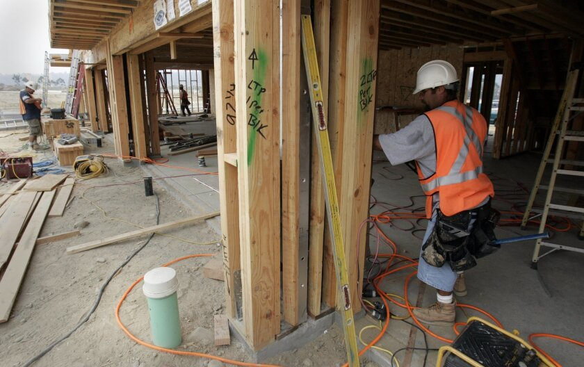 Home construction is up from last year statewide, but not by much.