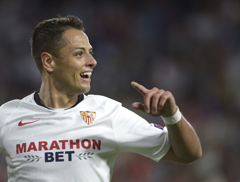 'Chicharito' Hernandez signs with Galaxy to become highest-paid player in MLS