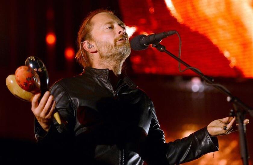 Fotografía de archivo del cantante de la agrupación británica Radiohead, Thom Yorke. EFE/Archivo