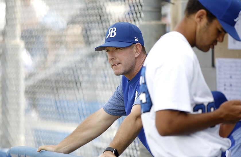 Rancho Bernardo coach Jeff Baumback looks out at the field, where the Broncos have compiled a 17-6-1 record this season.