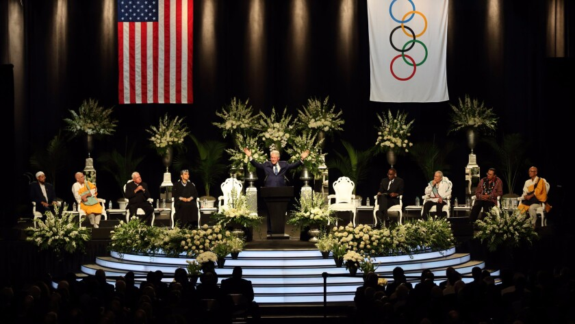 """Former President Bill Clinton called Ali, """"a universal soldier for our common humanity."""""""