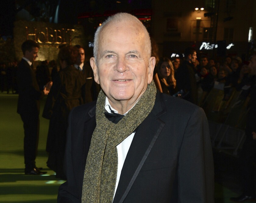"""In this Dec. 12, 2012 file photo, actor Ian Holm appears at the premiere of """"The Hobbit: An Unexpected Journey"""" in London."""