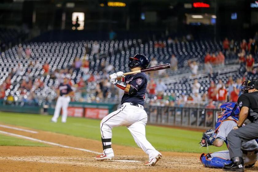 11-10. Suzuki jonronea y corona un racimo de 7 carreras en la victoria de los Nacionales sobre los Mets