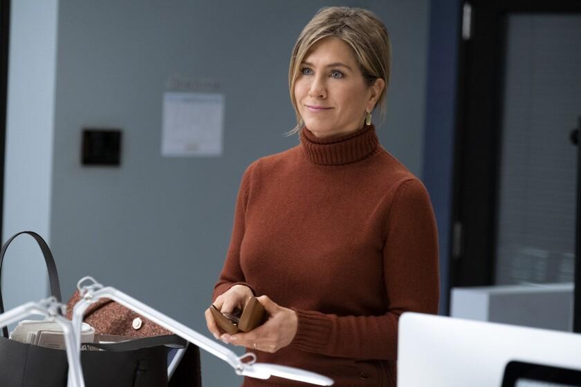 "Jennifer Aniston in ""The Morning Show"" on Apple TV+"