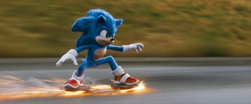 Sonic The Hedgehog Movie Ignores A Big Theme From The Original Game Los Angeles Times