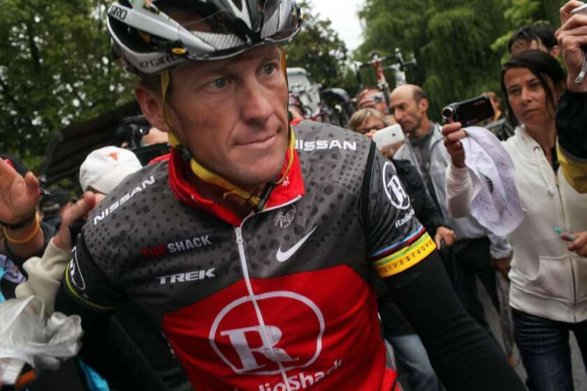 Lance Armstrong will be the subject of a handful of upcoming movies.
