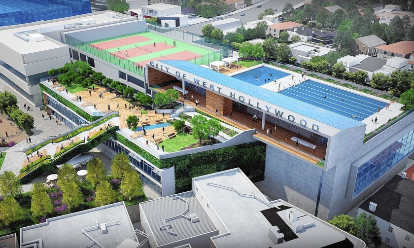 West Hollywood Park proposal