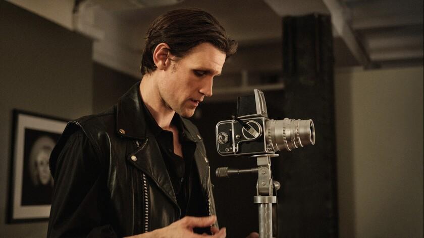Matt Smith as Robert Mapplethorpe Photo Courtesy of Samuel Goldwyn Films