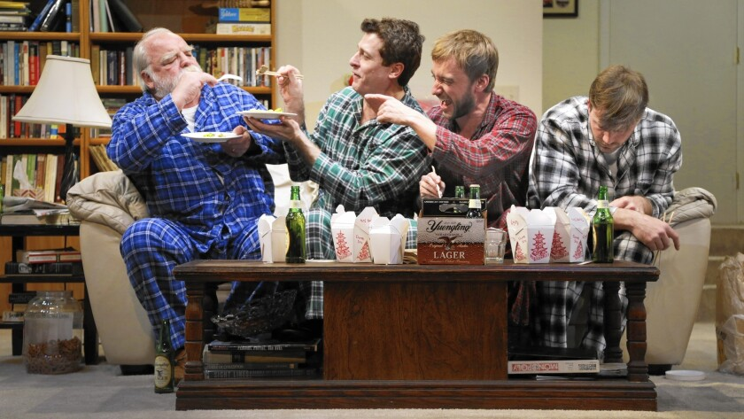 """In """"Straight White Men"""" are Richard Riehle, from left, Gary Wilmes, Frank Boyd and Brian Slaten."""