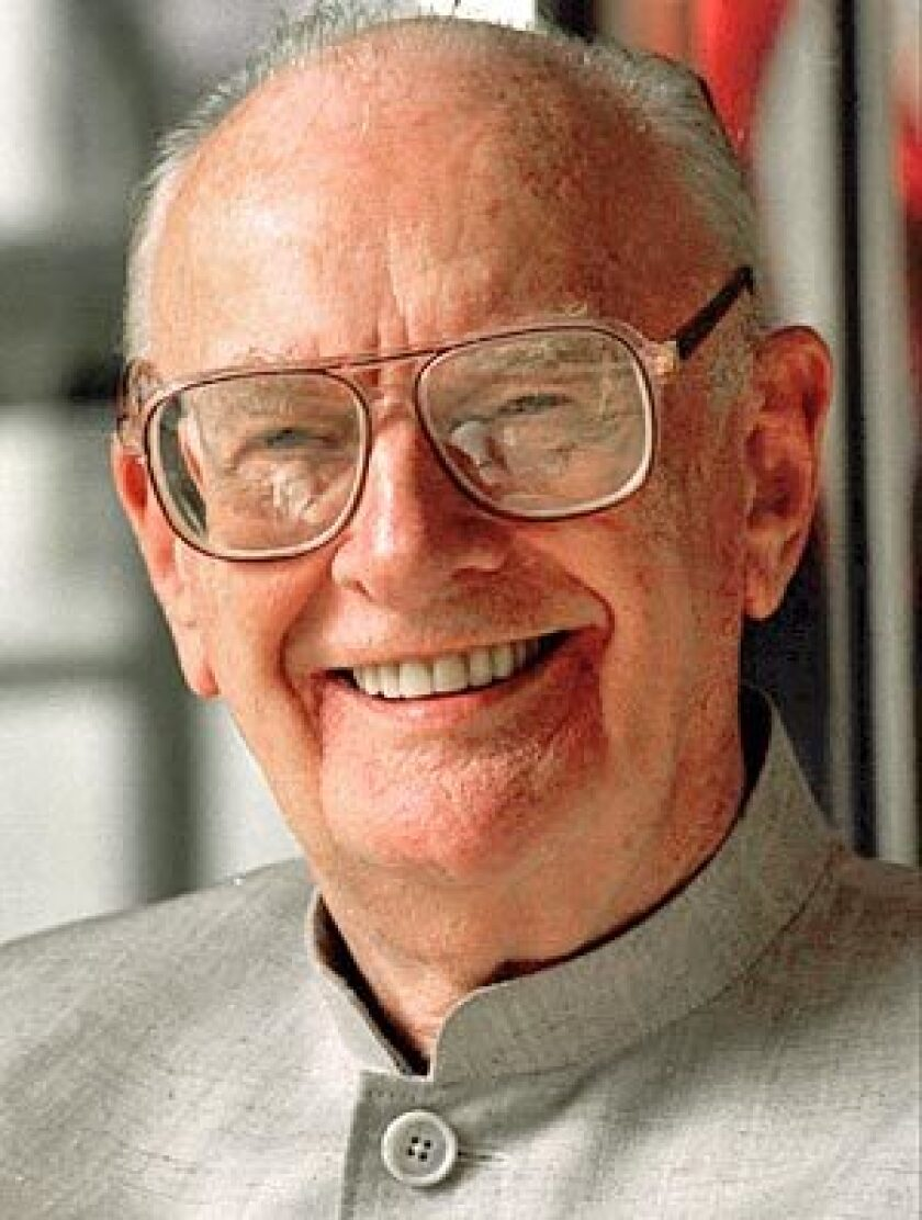 "Science fiction writer Sir Arthur C. Clarke, best known for ""2001: A Space Odyssey,"" was a prolific and best-selling author for four decades with an uncanny ability to predict the impact of technology."
