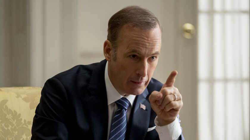Bob Odenkirk stars as 'President Chambers' in LONG SHOT.