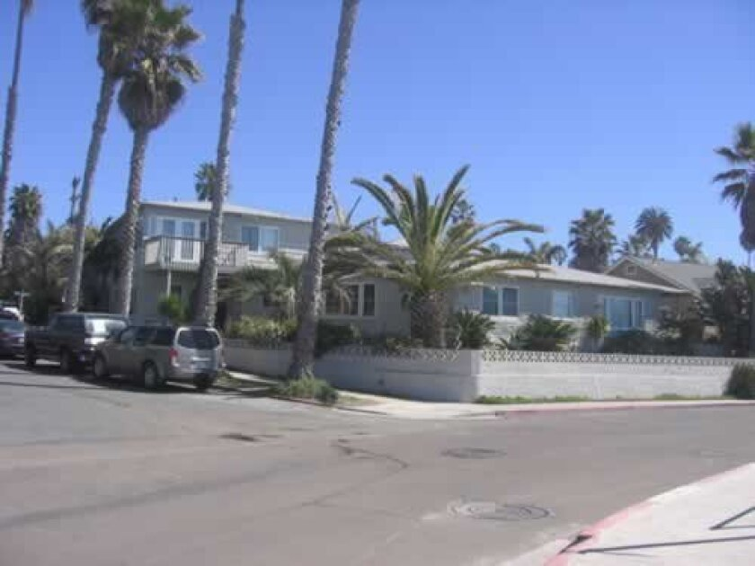 The property at 6722 Vista Del Mar in La Jolla will be torn down and replaced with a seven-unit condominium building. Ashley Mackin