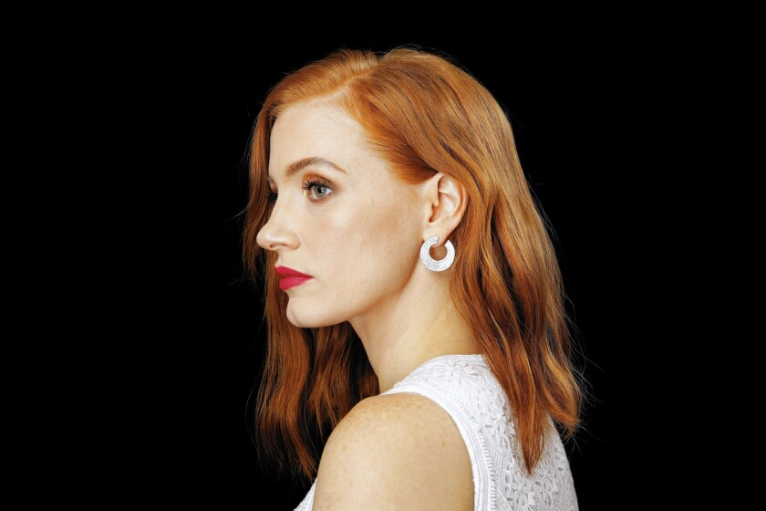 Actress Jessica Chastain in Manhattan, N.Y., on Aug. 2, 2015.