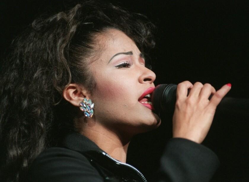 La difunta cantante tejana Selena