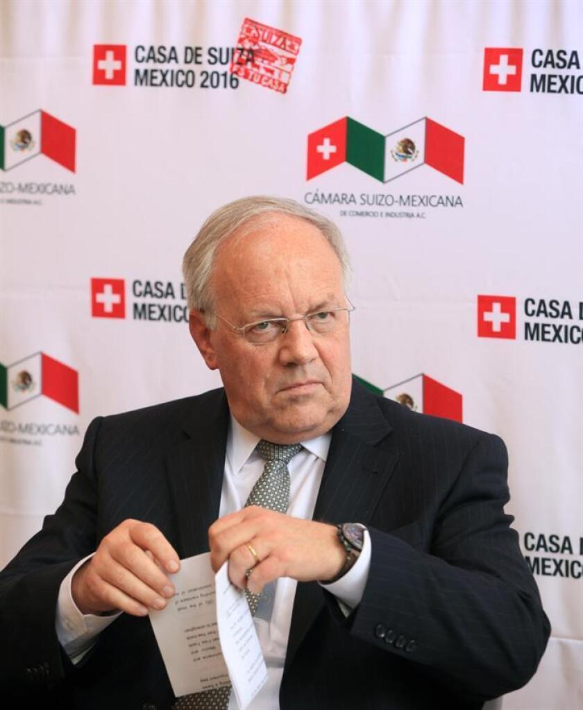 El presidente de Suiza, Johann Schneider-Amman. EFE/Archivo