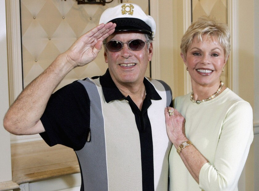 """Daryl """"Captain"""" Dragon and Toni Tennille in 2005. She filed for divorce Jan. 16 in Arizona."""