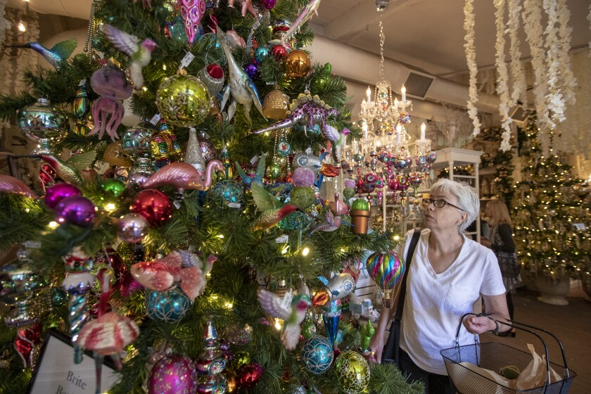 Roger S Gardens Unveils Enchanted Christmas Boutique Los Angeles Times