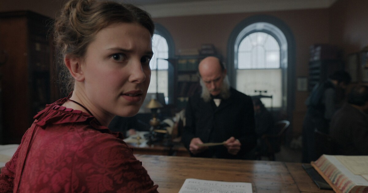 Review: Sherlock who? Millie Bobby Brown is terrific in the clever 'Enola Holmes'