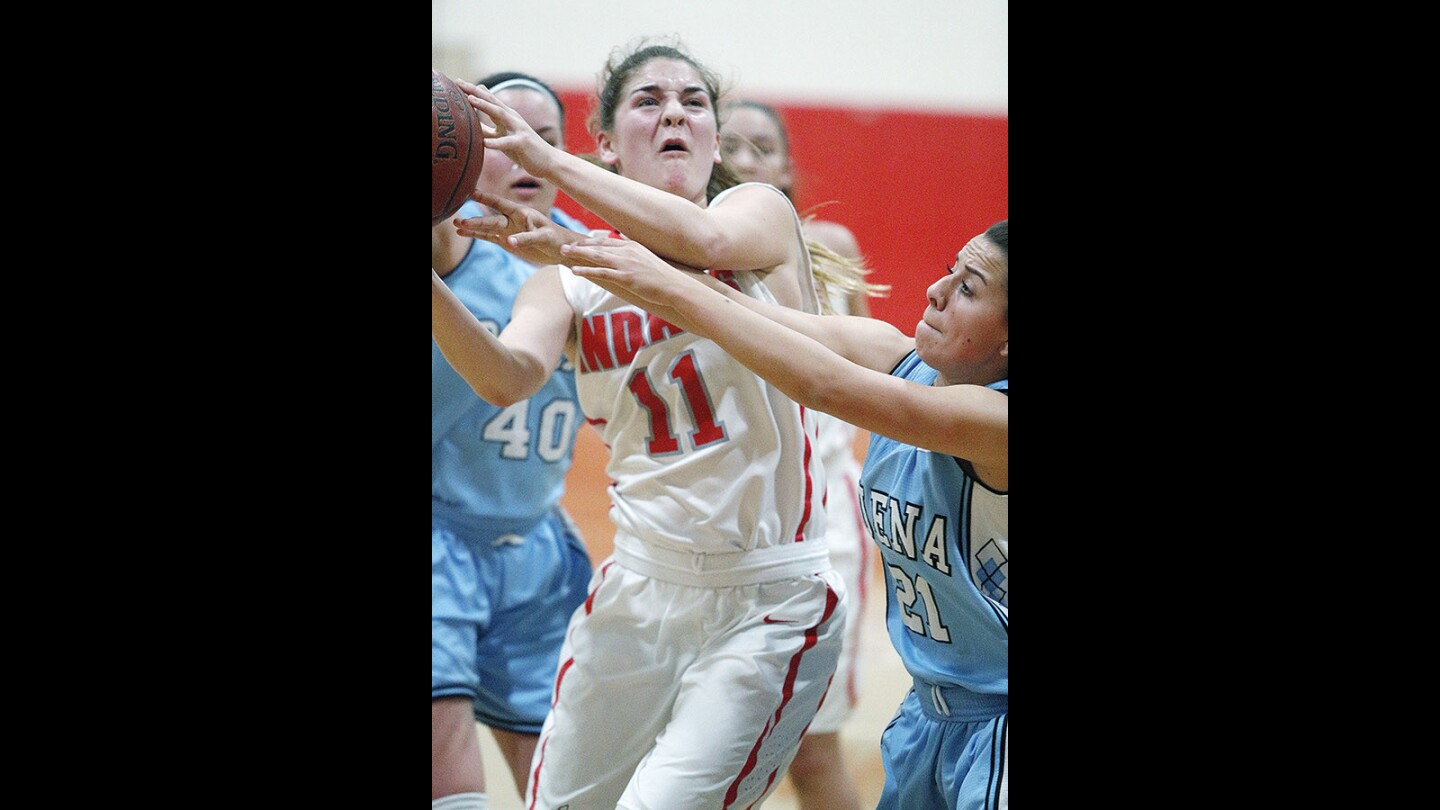 Photo Gallery: Burroughs girls' basketball wins first round of CIF Div. II-A against Buena