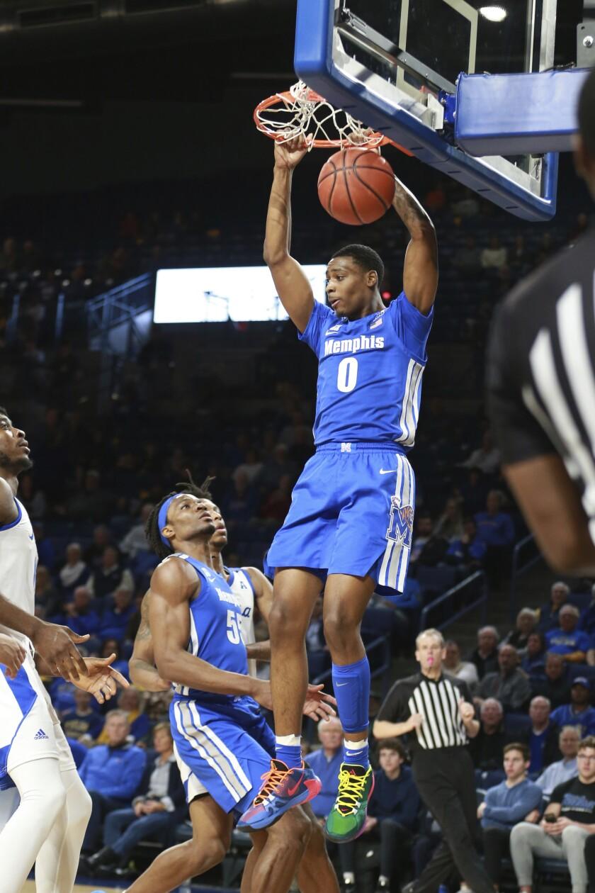 Memphis Tulsa Basketball