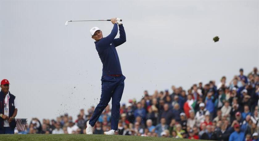 En la imagen, el golfista inglés Justin Rose. EFE/Archivo