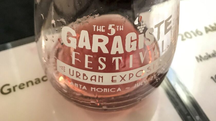 The Garagiste Wine Festival in Santa Monica celebrates the artisanal winemaker.