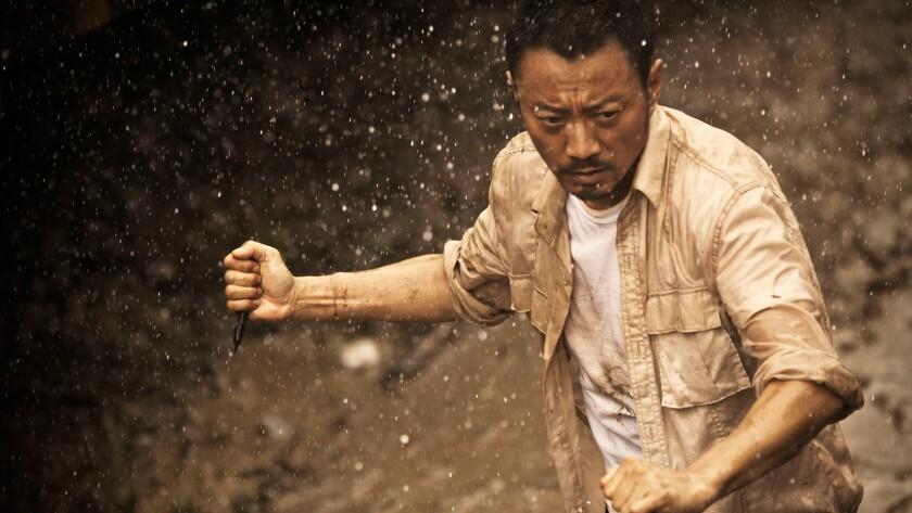 "Zhang Hanyu in the movie ""Operation Mekong."""