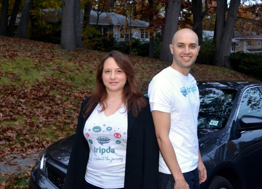 Adi Vaxman and Joe McFarlane are co-founders and co-chief executives for the North American unit of ride-matching app Tripda.
