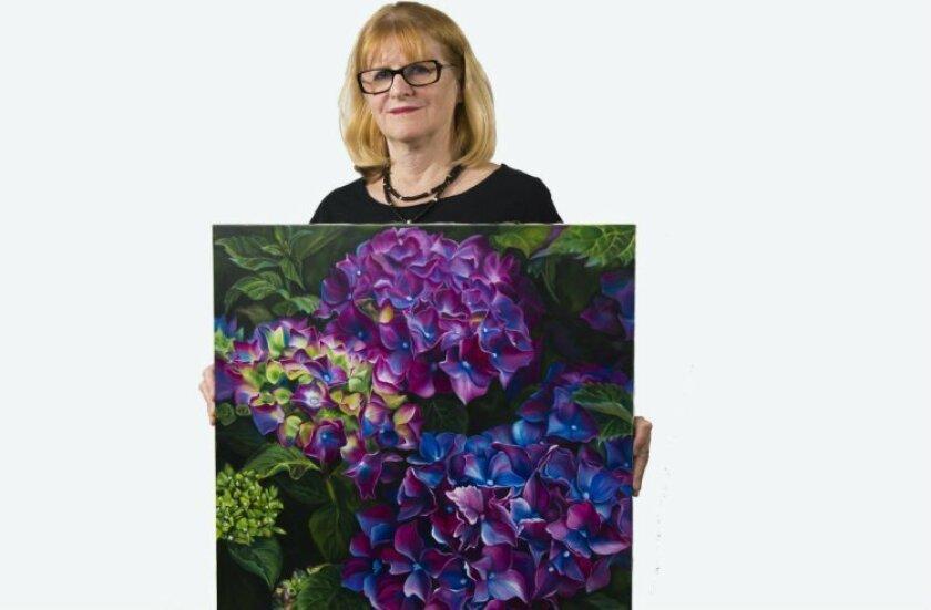 Maureen Barrack, president of the Vista Art Foundation.