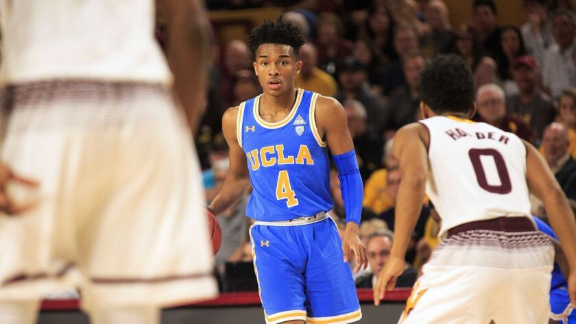 Jaylen Hands (Foothills Christian) averaged 10.1 points and 3.9 rebounds a game this season for UCLA.