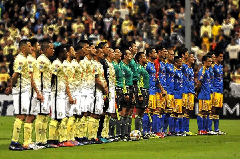 América y Tigres... choque por el trofeo de campeón del futbol mexicano.