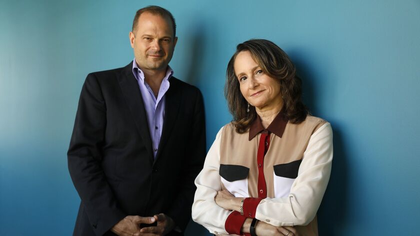 Nina Jacobson, a former Disney studio boss, and her producing partner Brad Simpson make up one of the most successful filmmaking teams working today. They own and run the Los Angeles production company Color Force.